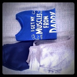 Boys Sweatpants Set!